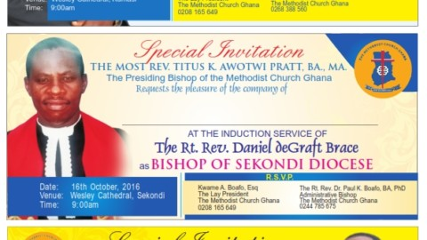Special Induction Services Invitations