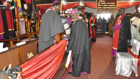 Induction of Administrative Bishop