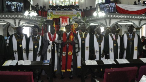 Induction of Diocesan Lay Chairmen