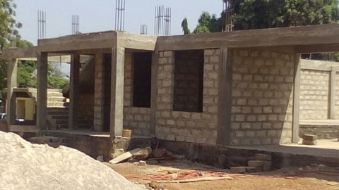 Building projects within the Northern Ghana Diocese