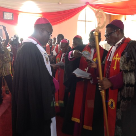 Inauguration of The Nkawkaw Diocese & Induction of the Bishop & the Lay Chairman