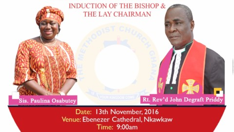 Preparation towards the Inauguration of Nkawkaw Diocese & Induction Service