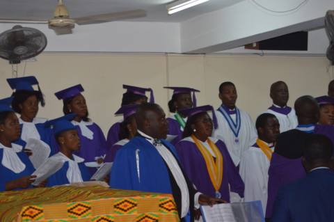 Picture updates at Dedication of Organ & Choir Robes at St. John-New Achimota Circuit