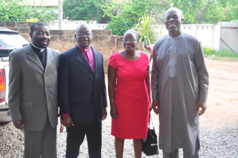 Former Second Lady Donates to St. Peter Methodist Library