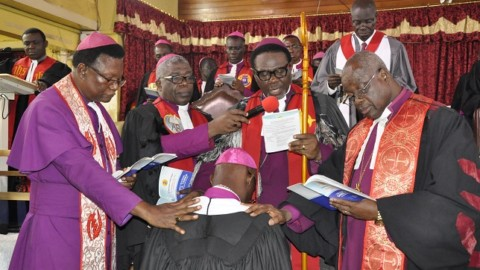 INDUCTION OF THE RIGHT REVEREND DANIEL K. TANNOR AS BISHOP OF SUNYANI DIOCESE