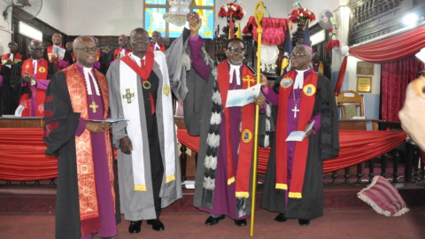INDUCTION OF BROTHER BERNARD CLEMENT KWASI BOTWE AS THE LAY PRESIDENT OF CONFERENCE